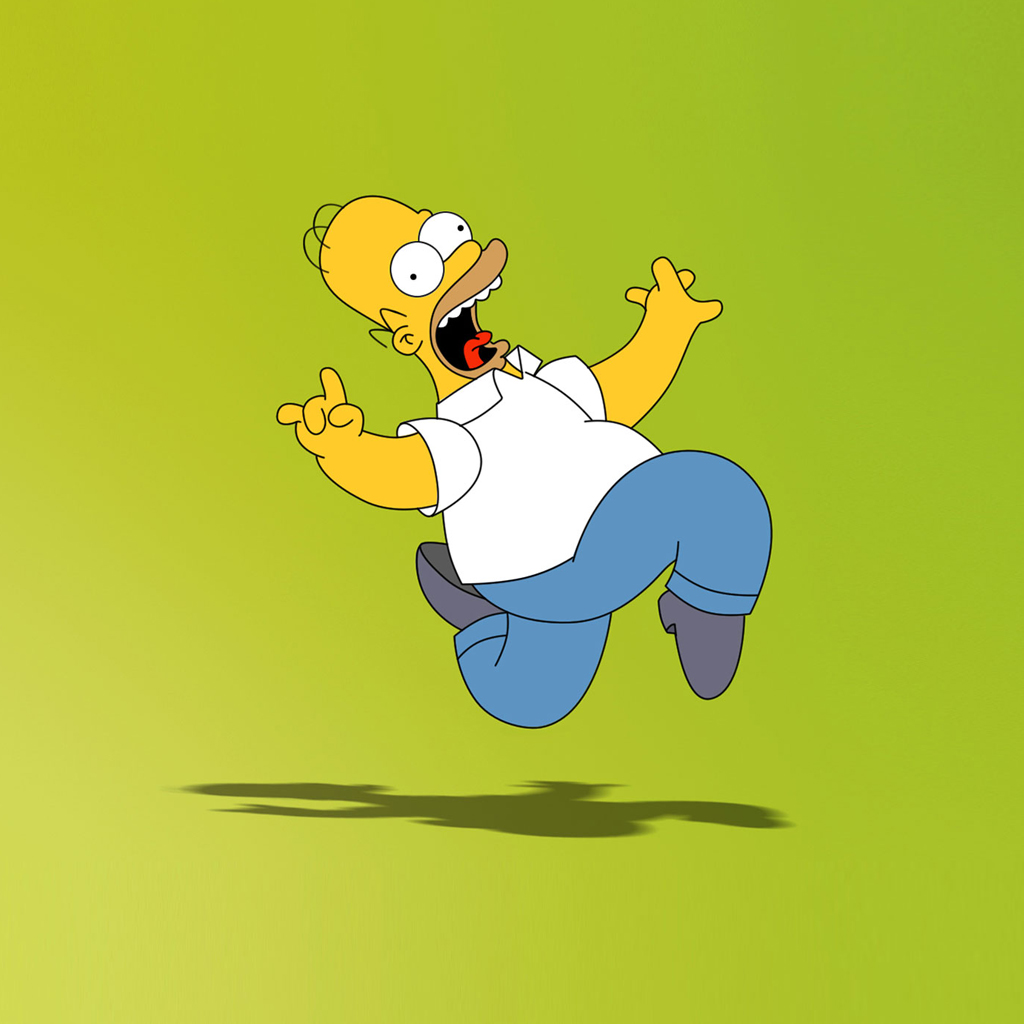 Homer Simpson | iPad Wallpaper - Download free iPad wallpapers & backgrounds