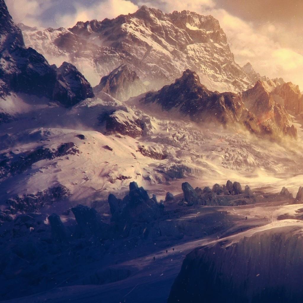Download Wallpaper Mountain Ipad Mini - 1400-mountain-landscape  Trends_572434.jpg