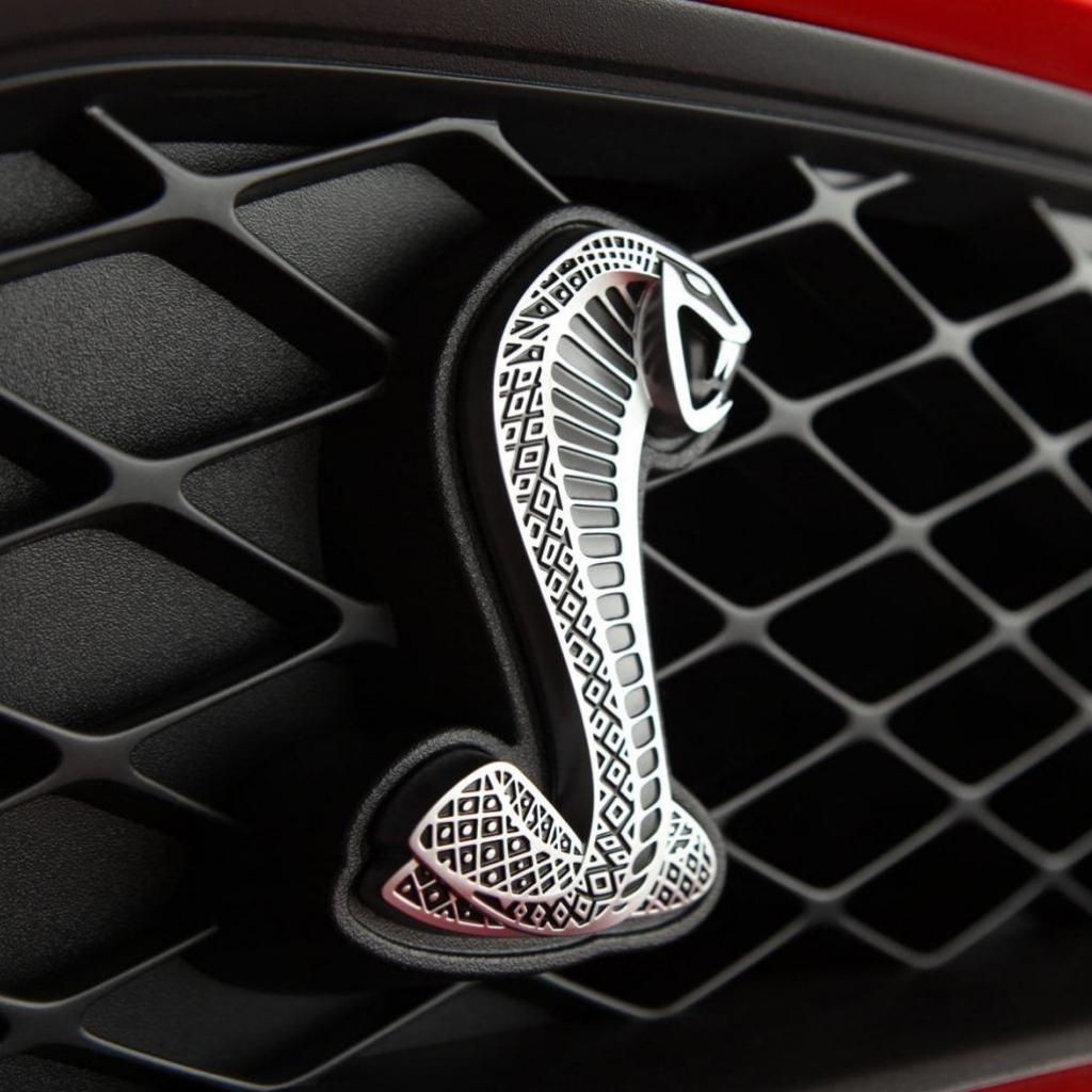 Ford mustang shelby cobra logo
